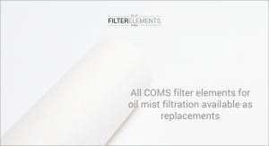 COMS filter elements for contec oil mist filtration as replacements available