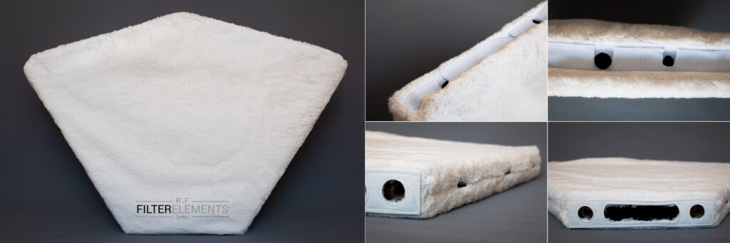 Pile Filter Cloth Disc Filters R+F FilterElements GmbH