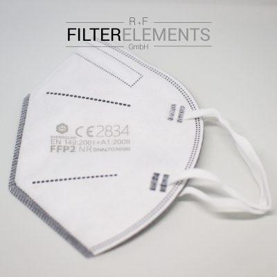 Zertifizierte FFP2 Maske CE 2834 Lagernd in Deutschland